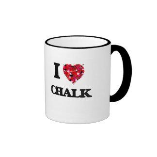 I love Chalk Ringer Mug