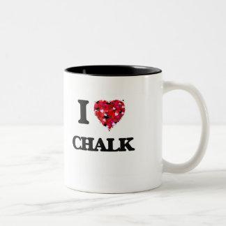 I love Chalk Two-Tone Mug
