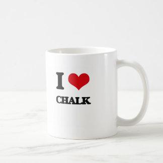 I love Chalk Basic White Mug