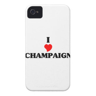 I love Champaign Case-Mate iPhone 4 Case