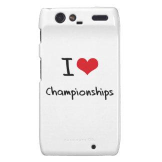 I love Championships Droid RAZR Case