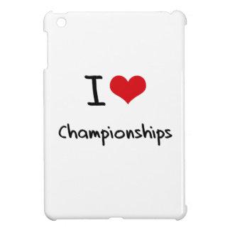 I love Championships Case For The iPad Mini