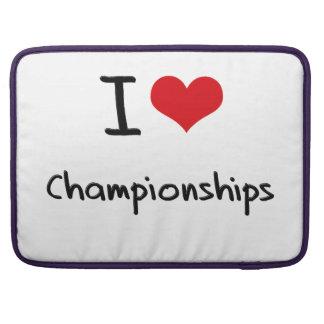 I love Championships MacBook Pro Sleeves