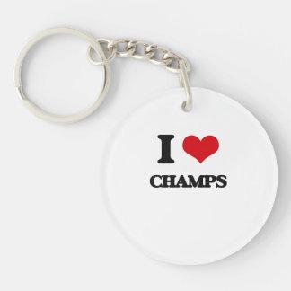 I love Champs Acrylic Key Chains
