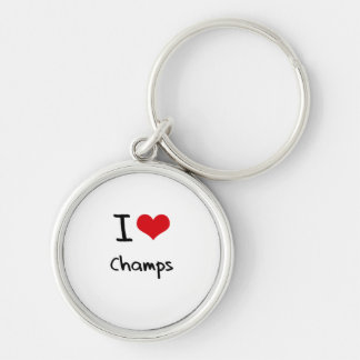 I love Champs Keychains