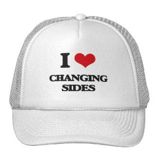 I Love Changing Sides Mesh Hats