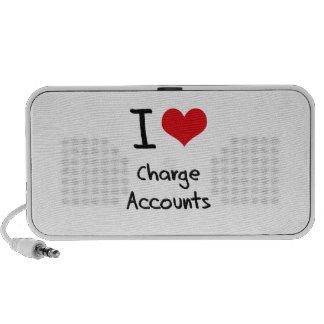 I love Charge Accounts Mini Speakers