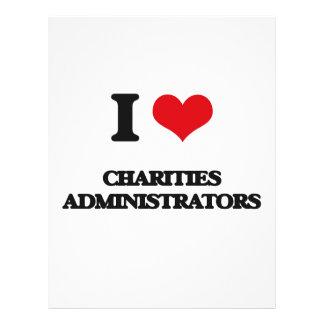 I love Charities Administrators Flyer
