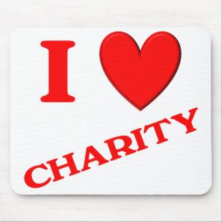 I Love Charity Mousepad