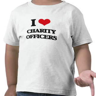 I love Charity Officers T Shirt