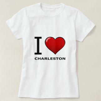 I LOVE CHARLESTON,SC - SOUTH CAROLINA T-Shirt