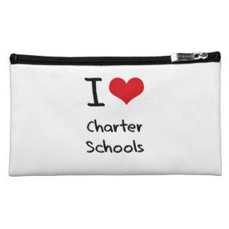 I love Charter Schools Cosmetics Bags