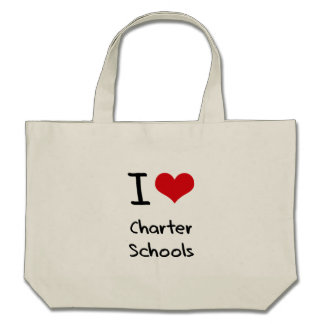 I love Charter Schools Tote Bags