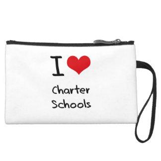 I love Charter Schools Wristlet Purse