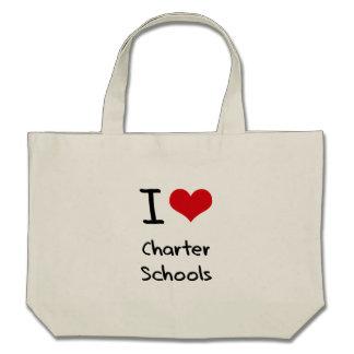 I love Charter Schools Tote Bags