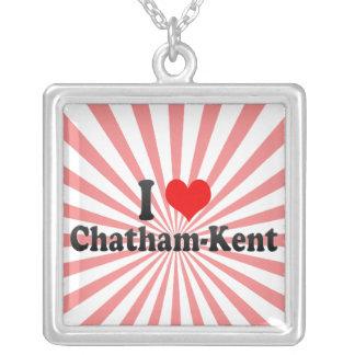I Love Chatham-Kent, Canada Custom Necklace