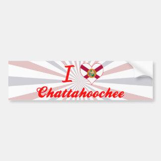 I Love Chattahoochee, Florida Bumper Stickers