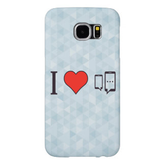 I Love Chatting Samsung Galaxy S6 Cases