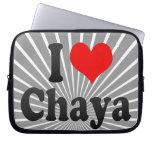 I love Chaya Computer Sleeve