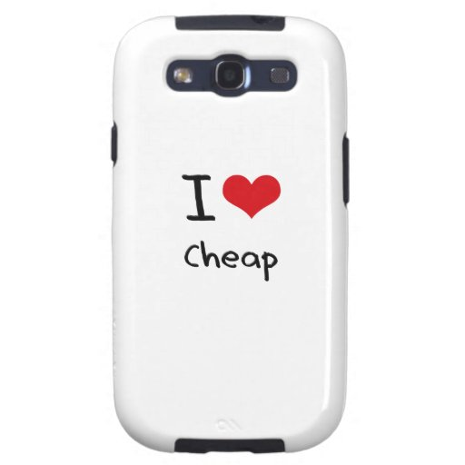 I love Cheap Galaxy S3 Cases