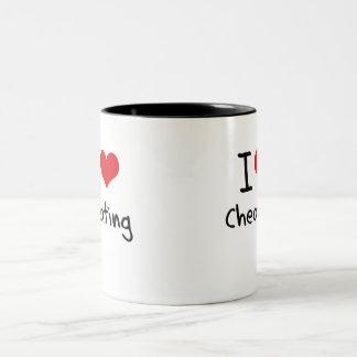 I love Cheating Two-Tone Mug