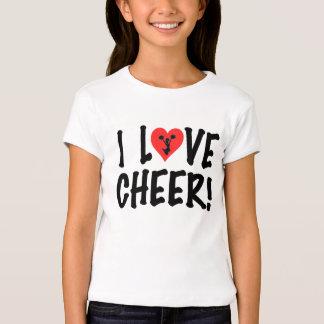 I Love Cheer! Tshirts