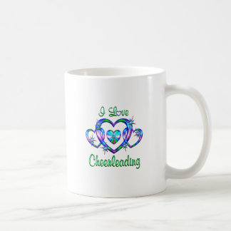 I Love Cheerleading Coffee Mug