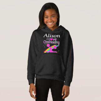 I LOVE CHEERLEADING PERSONALIZE SWEATSHIRT