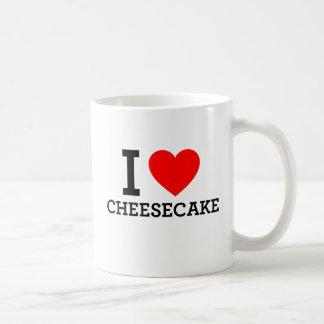 I Love Cheese Cake Coffee Mug