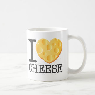 I Love Cheese Coffee Mug