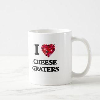 I love Cheese Graters Basic White Mug