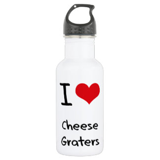 I love Cheese Graters 532 Ml Water Bottle