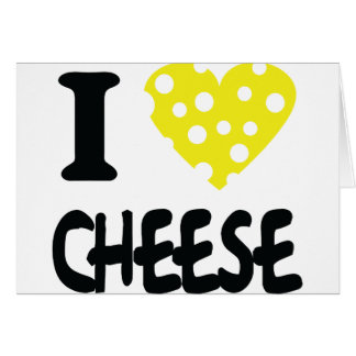 I love cheese icon cards