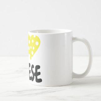 I love cheese icon mugs