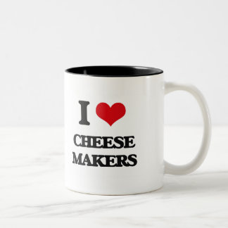 I love Cheese Makers Mug