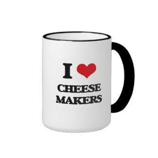 I love Cheese Makers Coffee Mug