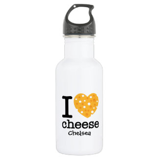 I Love Cheese 532 Ml Water Bottle