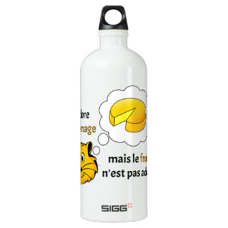 I love cheese SIGG traveller 1.0L water bottle