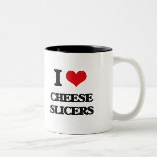 I love Cheese Slicers Coffee Mug