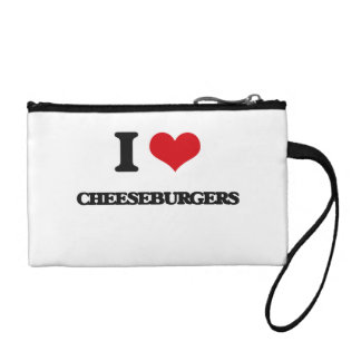 I love Cheeseburgers Coin Purse