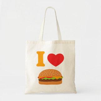 I Love Cheeseburgers Budget Tote Bag