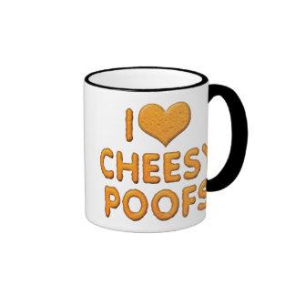 I Love Cheesy Poofs Coffee Mugs