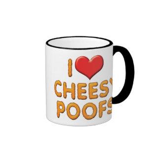 I Love Cheesy Poofs Mugs