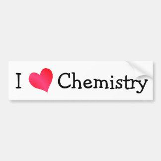 I Love Chemistry Bumper Stickers
