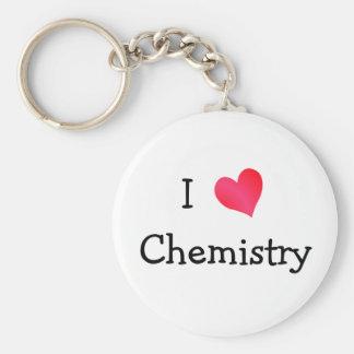 I Love Chemistry Key Ring