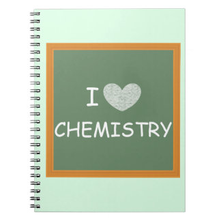 I Love Chemistry Notebook