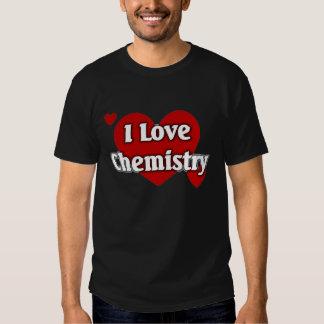 I love Chemistry T-shirts