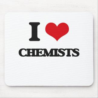 I love Chemists Mousepads