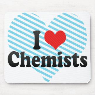 I Love Chemists Mouse Pad