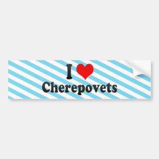 I Love Cherepovets, Russia Bumper Stickers